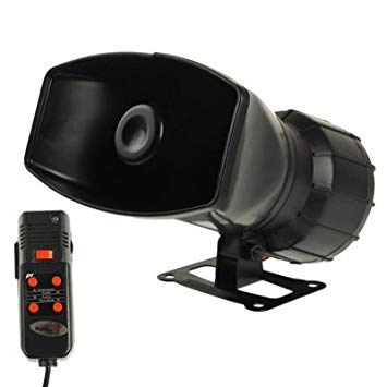 Uniqus 5 Tone Electronic Siren with Microphone