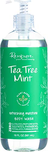Renpure Tea Tree Mint Body Wash, 19 Ounce