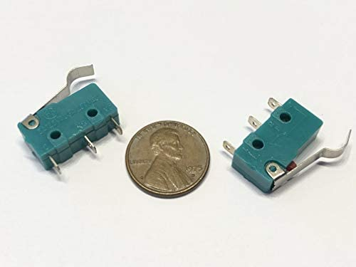 2 Pieces Green hump N//C N//O normally Micro Limit Switch Lever 125v 3a amp 5A c37 endlessparts