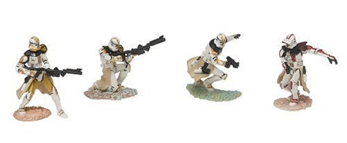 Star 327th (Japan Import Star Wars Unleashed Battle 4 Pack Aayla Secura's 327th Star Corps)