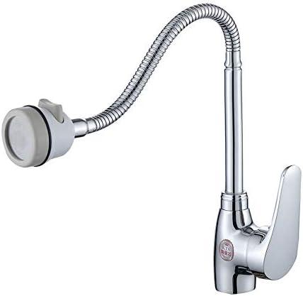 毎日の装飾水栓タップ錆びにくい360°回転低鉛セラミックバルブコア耐久性取り付けが簡単ステンレス製のシンクの蛇口節水レジスト腐食の蛇口