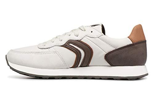CSneakers Blancwhite Homme Basses Coffee C1z6t Geox Vincit dk U PXiOuZk