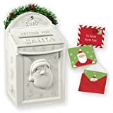 Letters For Santa-Mailbox 2010 Hallmark Ornament - QXG7566 by Hallmark Keepsakes