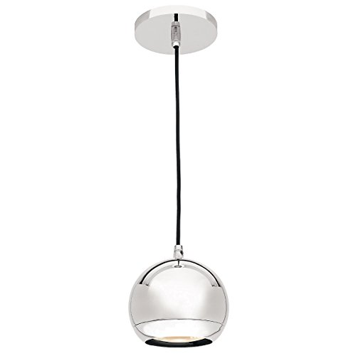 Chrome Ball Pendant Light