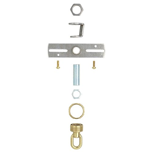 - Westinghouse Lighting 7035000 Screw Collar Loop Kit Brass