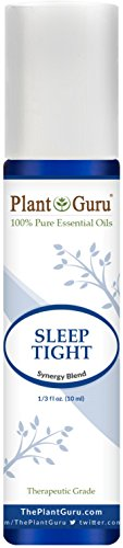 Depression Aid - Sleep Tight Synergy Essential Oil Blend Roll On 10 ml Pre-diluted with Fractionated Coconut Oil 100% Pure Therapeutic Grade Good Night Aid, Relaxation, Depression, Stress, Anxiety Relief, Mood Calming