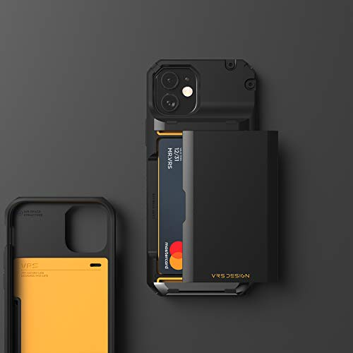 Cell phone case with credit card holder