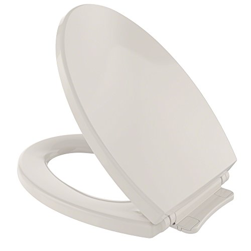 TOTO SS114#12 Transitional SoftClose Elongated Toilet Seat, Sedona Beige