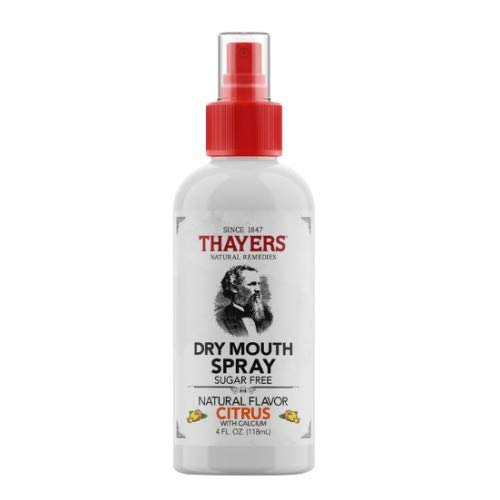 Thayers Dry Mouth Spray, Citrus Flavor 4 oz (Pack of 5)