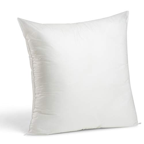 - Foamily Premium Hypoallergenic Stuffer Pillow Insert Sham Square Form Polyester, 24
