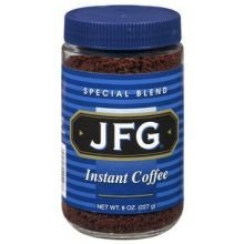 JFG Beverage Instant Coffee, 8 Ounce -- 12 per case. by Reily Foods