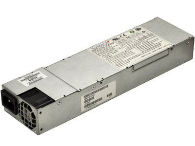 Supermicro PWS-563-1H Power supply ( internal ) - 80 PLUS Gold - AC 100-240 V - 560 Watt - PFC - 1U - for SC111, SC113, SC113M, SC815, SC825, SuperServer 6016T-6F by Generic