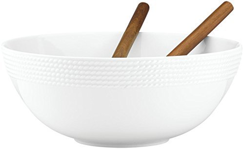 kate spade new york Wickford Salad Set & Wood Servers by Kate Spade New York (Image #3)