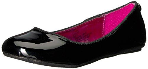 Black Ballet Flats Girls - Steve Madden Girls' JHEAVEN Ballet Flat,