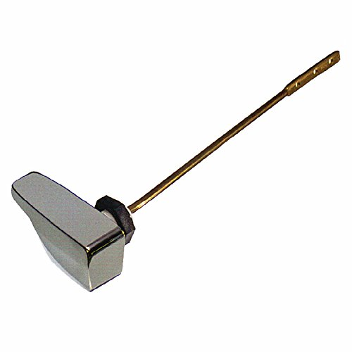 Danco 88363A Side Mount Handle, 9-1/4 in L, Metal, Chrome, for Use with Eljer Toilet Tanks, - Lever Danco