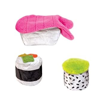 Sushi Bento Box Catnip Filled Cat Toy by Petstages