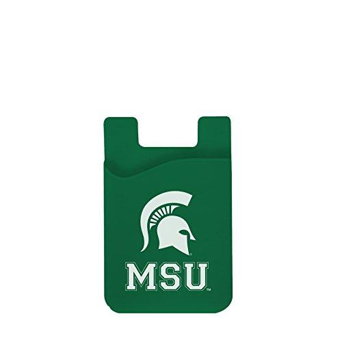 Michigan State Spartans Cell Phone Card Holder (Michigan Holder Card Business)