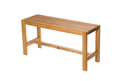 Arb Teak & Specialties BEN563 Fiji Teak Shower Bench-36