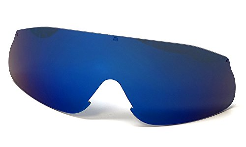 Bolle Edge - Bolle Edge Authentic Repalcement Lenses, Blue Mirror