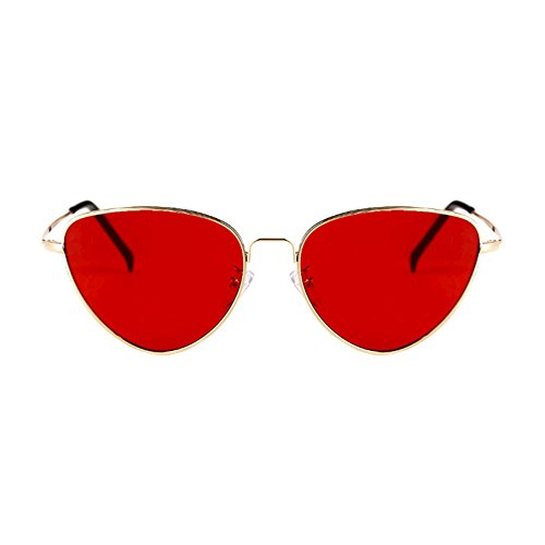 Retro de 5 de Estilo de Sol Sol la Las DT Protección Harajuku del Ultravioleta Gafas 5 de Gafas del de triángulo Color wqpCW1t4