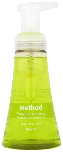 Method Foam Hand Wash Green Tea Aloe 300 ml (Pack of 3) 45847