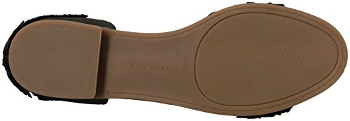 Brand Zapatos Lucky Gelso Black Ante Planos Pv8Rwpq
