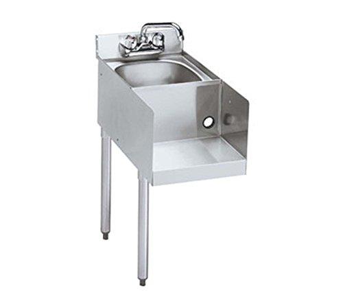Krowne 21-18BDL - 2100 Series 18'' Blender/Dump Sink Modular Add-On, Legs on Left by Krowne Metal