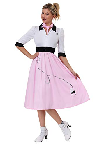 Women's Sock Hop Sweetheart Costume Large