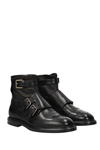 amp;Gabbana A60111AH018 Nero Stivaletti Uomo Poliammide EU Dolce ZvfqnTdWq