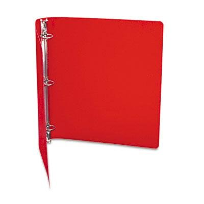 6 Pack - Accohide Poly Ring Binder With 35-Pt. Cover 1'' Capacity Executive Red ''Product Category: Binders & Binding Systems/Binders''