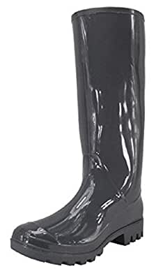 Shoes 18 Womens Classic Rain Boot Black Size: 5