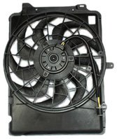 TYC 620640 Ford/Mercury Replacement Radiator/Condenser Cooling Fan Assembly (Ford Thunderbird Radiator Fan)