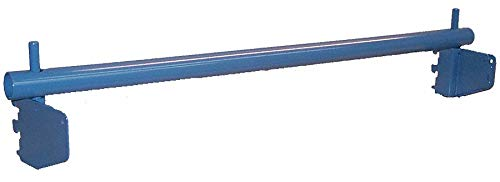 Roll Holder, 72 W x 4 D x 4 in. H, Gray