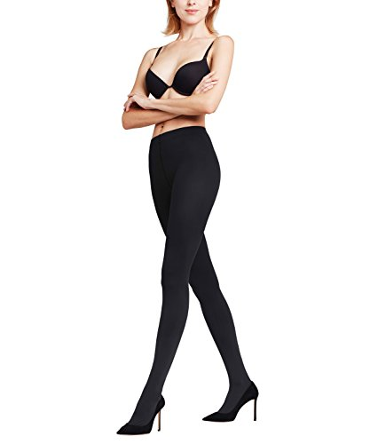 Falke Women's Pure Matt 100 Tights-Opaque-91% Polyamide, Black, XL
