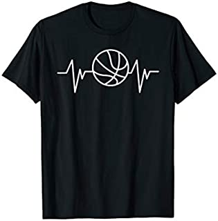 ⭐️⭐️⭐️ Basketball Heartbeat Basketball Player Basketball Fan Need Funny Short/Long Sleeve Shirt/Hoodie