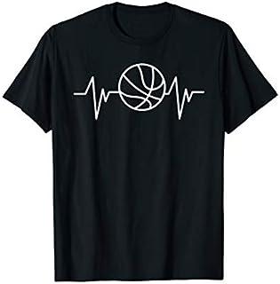 Birthday Gift Basketball Heartbeat Basketball Player Basketball Fan  Short and Long Sleeve Shirt/Hoodie