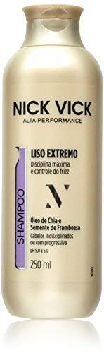 Shampoo Liso Extremo Nick Vick Alta Performance, Nick & Vick