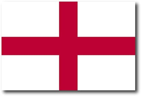England St George Flag Car Magnet Decal 4 x 6 Heavy Duty for Car Truck SUV