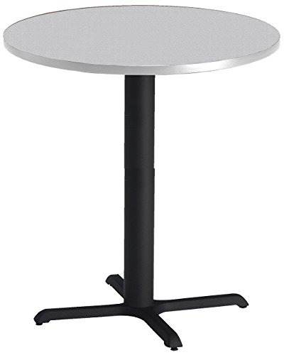 Mayline Bistro Series Round Bar Height Table with Black Base, Mayline Bistro Tables