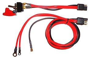 Direct Start Harness - Quickcar Racing Products 50-507 Ignition/Start Switch with Wiring Harness