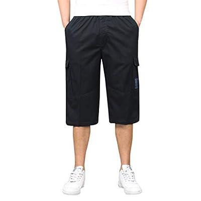 Men's Stylish Seven Point Multi-Zip Multi-Pocket Built-in Corded Cargo Shorts