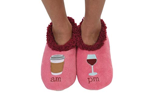 pm Splitz Applique Womens Snoozies Classic Slipper Socks Am HSxw0q
