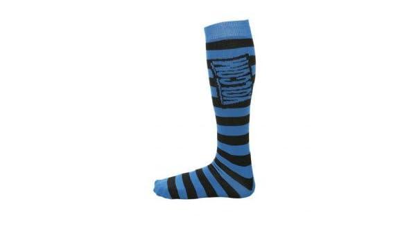 Volcom vstripe Coolmax Calcetines de Nieve - luz estroboscópica Azul - Grande/x Large: Amazon.es: Zapatos y complementos