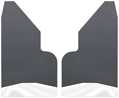 Husky Liners Universal Mud Flaps 14IN Wide - SS Wt - Universal Fitment