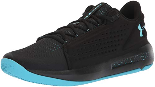 Under Armour Men's Torch Low Basketball Shoe, Black (003)/Alpine, 10.5