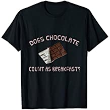Does Chocolate Count as Breakfast? Relaxed Fit T-Shirt