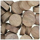 WIDGETCO 5/8'' Walnut Wood Plugs, Face Grain