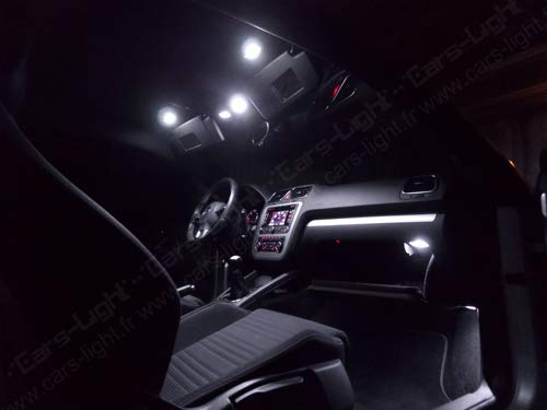 KIT LED INTERNI POLO 9N 9N3 FULL WHITE 6000K