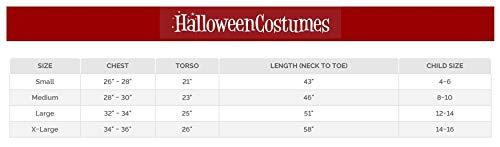 Fun World Big Kids Fade Eye Shadow Demon Costume, Black, Small - http://coolthings.us