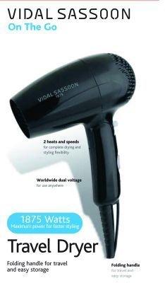 Hair Dryer 1875W Travel Pro 5 pcs sku# 905306MA by Helen of Troy - Reta